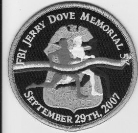FBI Patch 2009 Jerry Dove Memorial 5k